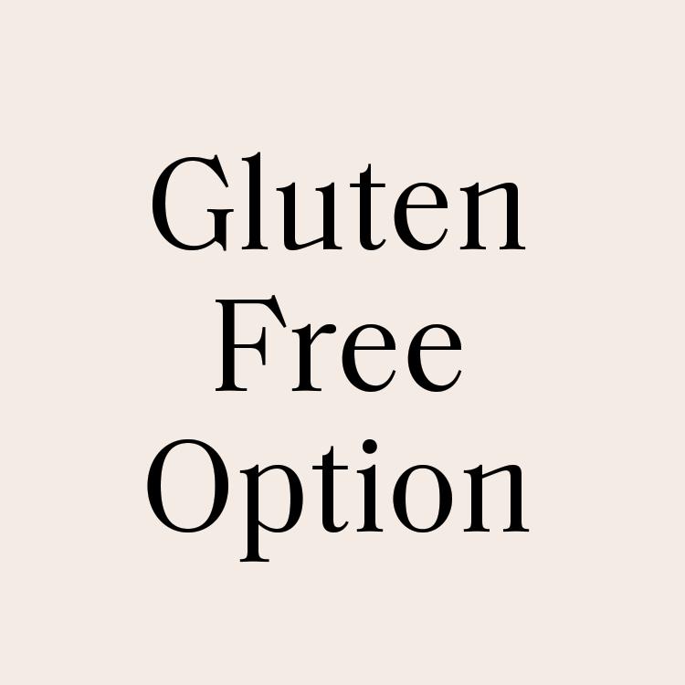 Gluten Free Option